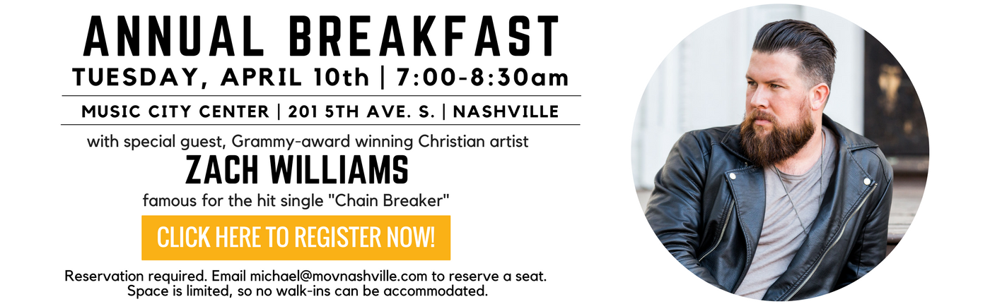 Breakfast Invitation 2018, email to register.